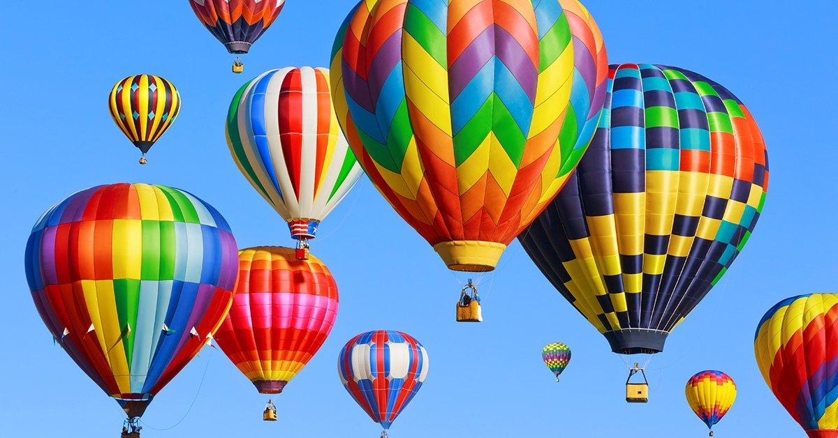Hőlégballonos élményrepülés