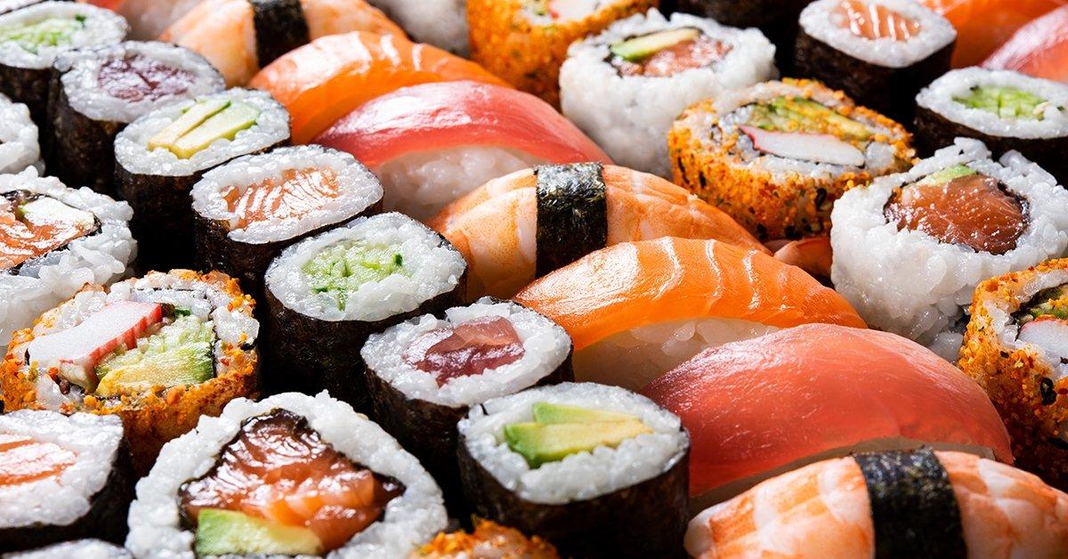 40 darabos sushi válogatás