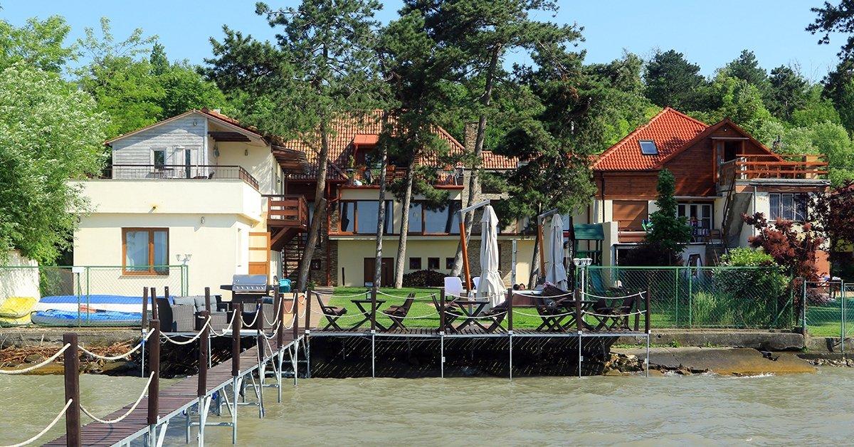 Romantika a Balaton partján