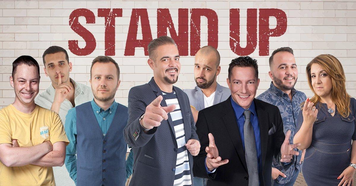 Februári stand up comedy