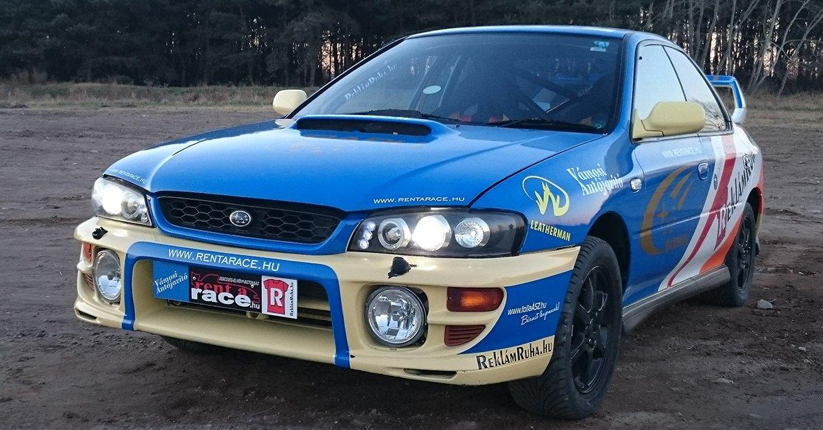 Subaru WRX-STI vezetés