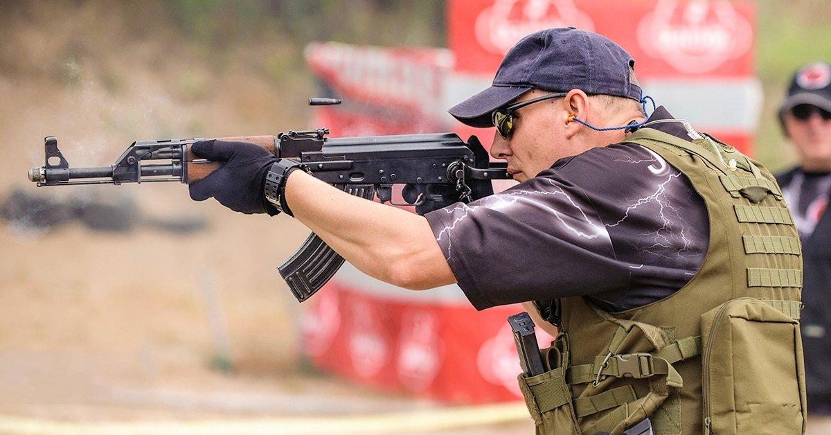 AK-47 roncslövészet