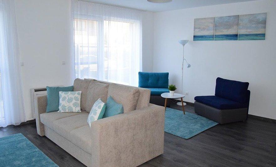 Előszezoni nyaralás a Balaton partján: 2 vagy 4 éj két főnek modern apartmanban wellness használattal, saját partszakasszal, közvetlenül Balatonlelle partján