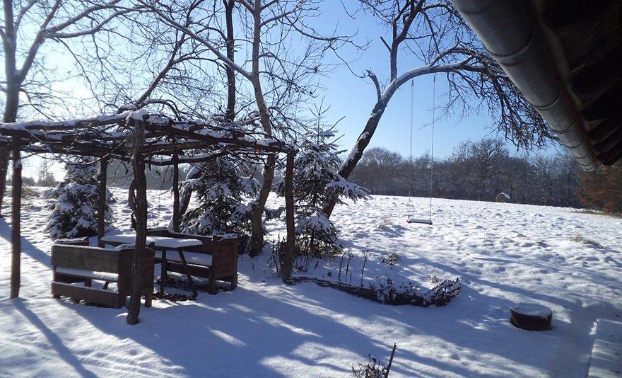Vidéki romantika: 3 nap 2 fő részére önellátással, erdőkkel, mezőkkel körbevett vidéki házban hétköznapokon az Őrségi Nemzeti Parkban