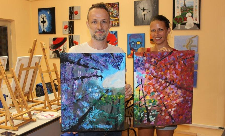 Páros élményfestés: fessétek meg az Art of my heart bármelyik képét, bármilyen időpontban