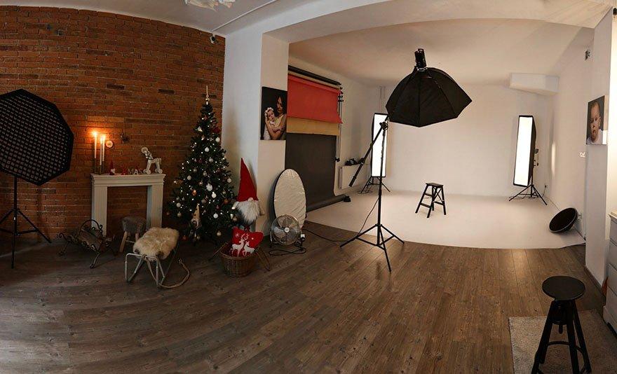 Örök emlék: karácsonyi stúdió fotózás akár 6 fő részére